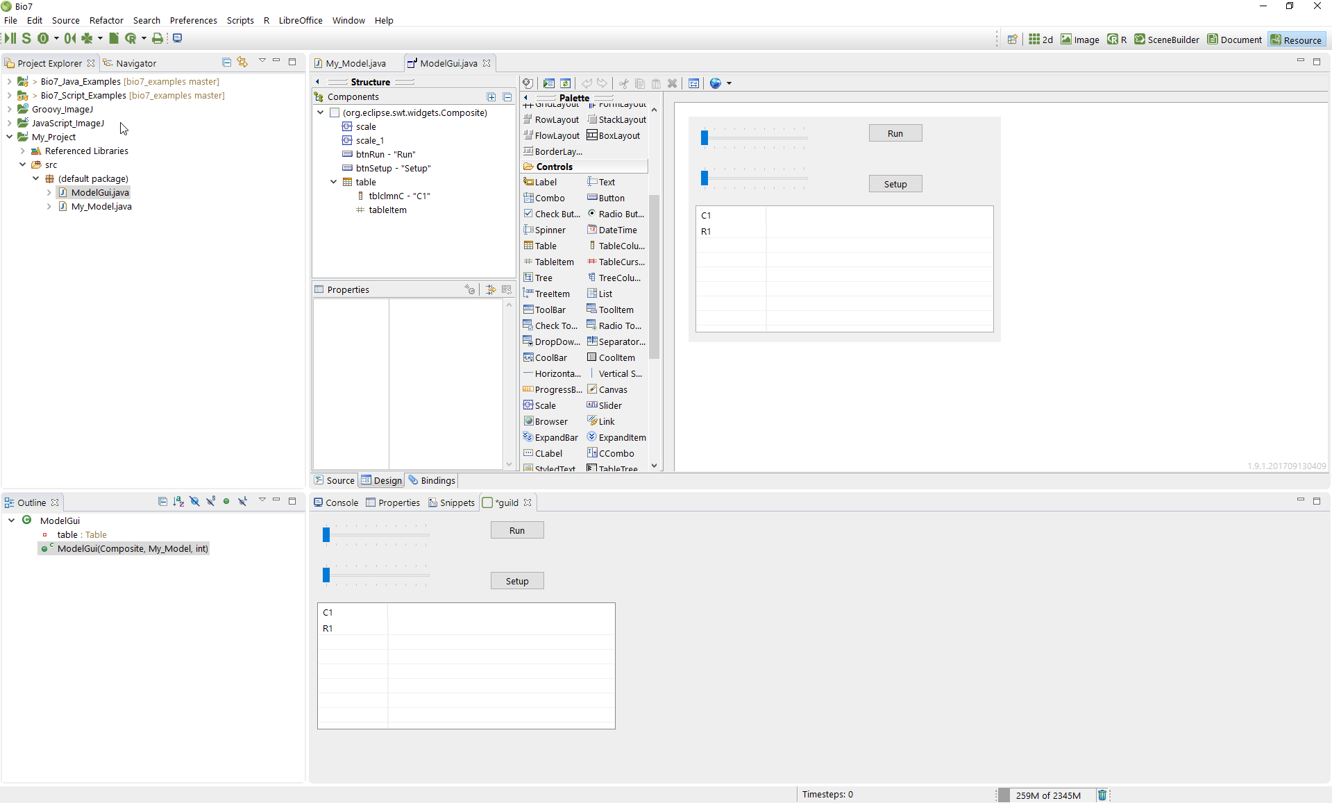 Install Useful Eclipse Plugins in Bio7 for R, Data Science